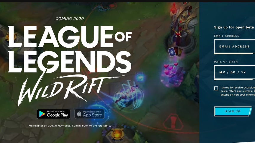 Дата выхода League of Legends Wild Rift