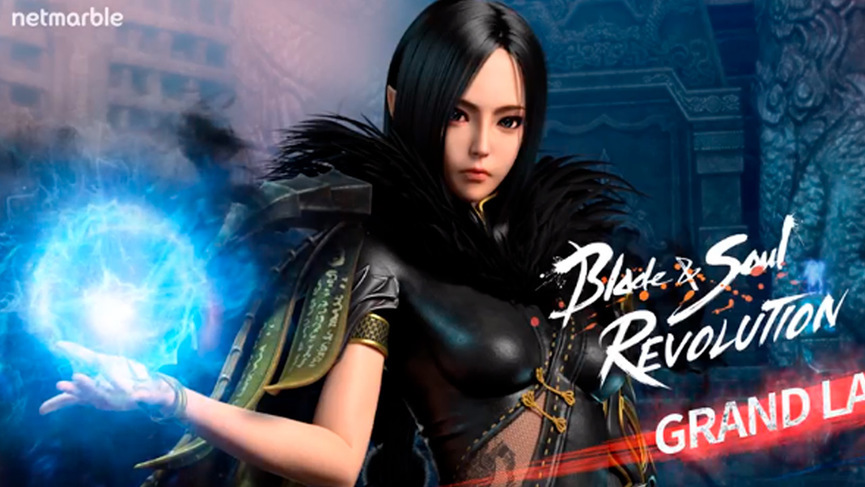 Дата выхода Blade & Soul Revolution