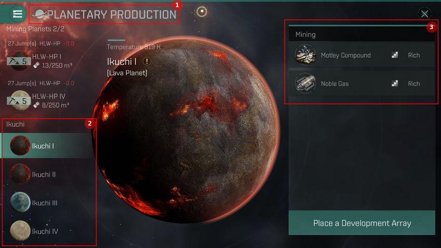 Eve Echoes Планетарная добыча