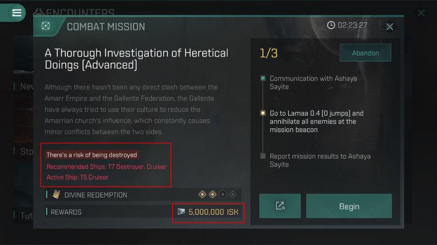 Eve Echoes Как пройти сложные миссии T5-T7
