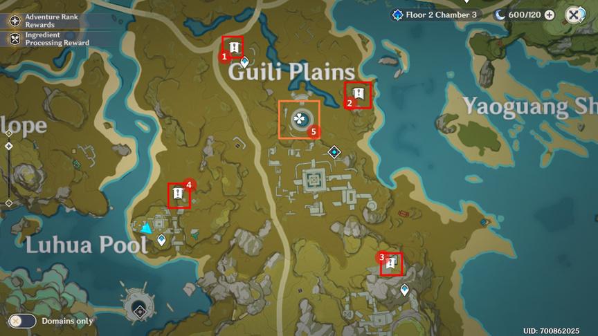Genshin Impact Непостоянство сокровищ Отправляйтесь в руины и найдите странную круглую пластину