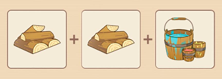 Genshin Impact Рецепт: Стеллаж для хранения