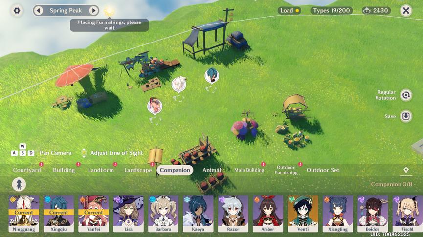 Genshin Impact Чайник безмятежности Обновление Обители Компаньоны 1.6