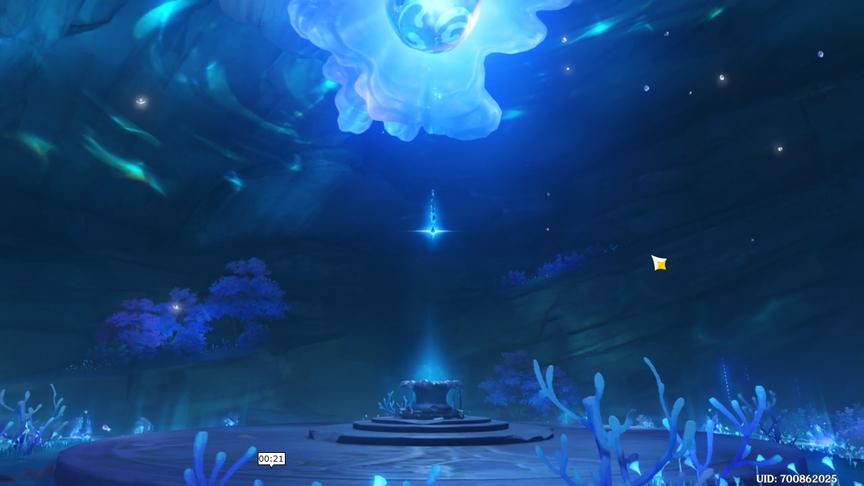 Genshin Impact 2.0 Квест Лунная бездна Жемчужина Духа Достижение Тот же свет луны