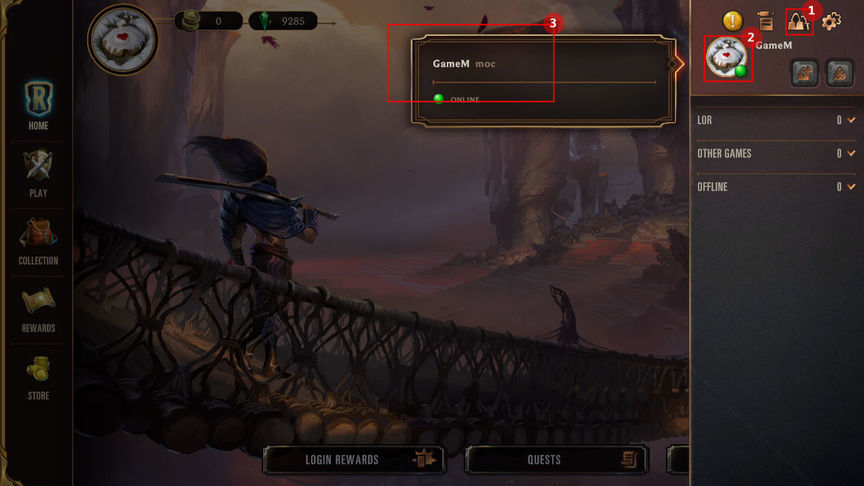 Legends of Runeterra Как сыграть матч с другом