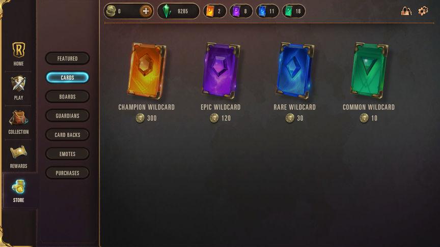 Legends of Runeterra Как использовать Шальные карты (Wildcard)