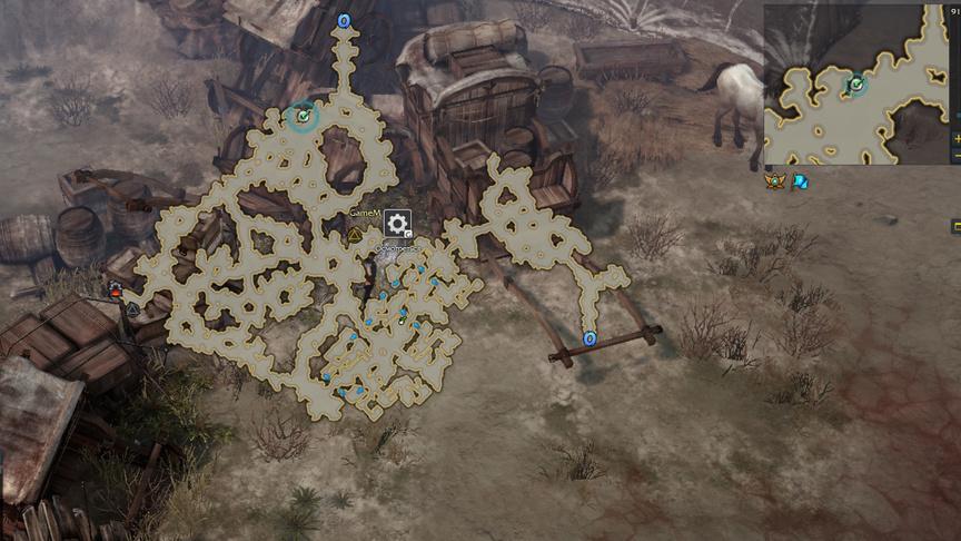 Lost Ark Панорама Торговый развал