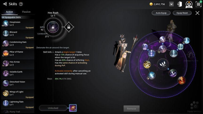 V4 Билд умении класса Чародейка (Enchantress)