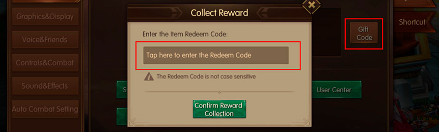 Gift Code World of Kings