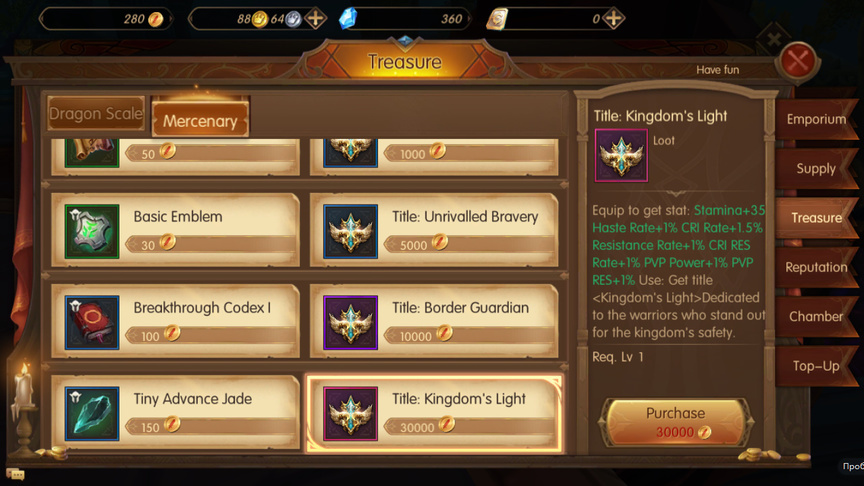 Mercenary World of Kings