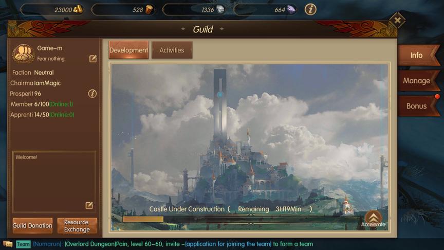 Create Guild World of Kings