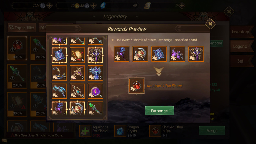 Legendary weapon World of Kings